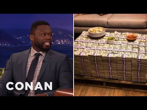 Thumbnail: Why Is Curtis '50 Cent' Jackson Posing With Cash If He's Broke? - CONAN on TBS