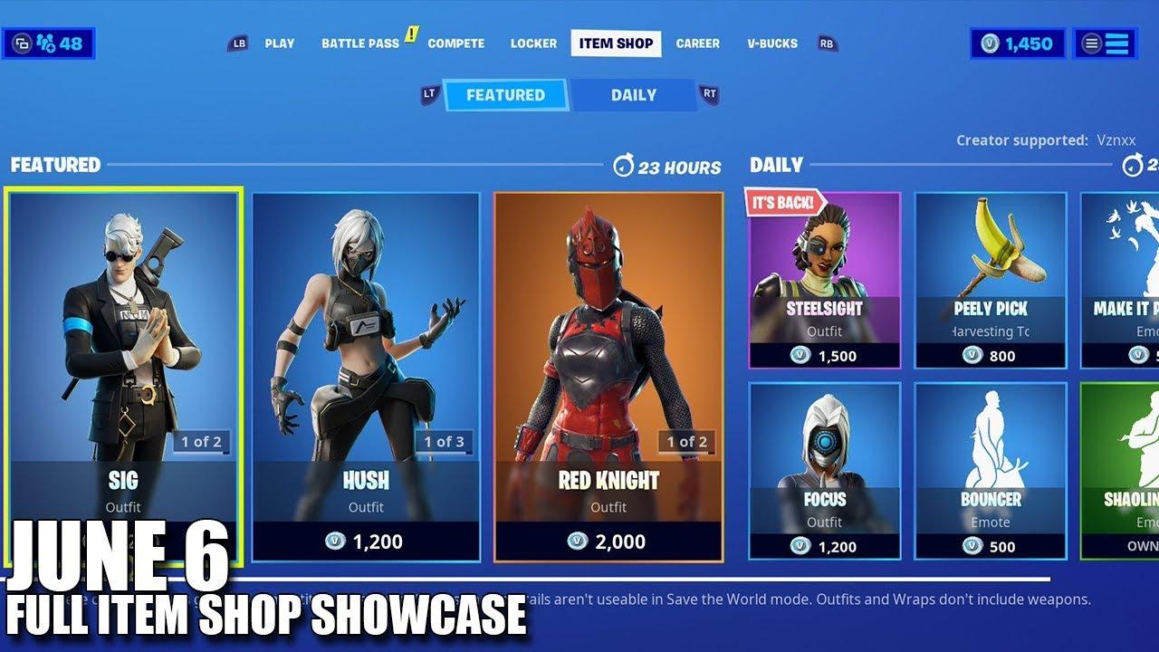 Fortnite Item Shop June 6 2020 Fortnite Battle Royale Youtube Check the current fortnite item shop for featured & daily items. fortnite item shop june 6 2020 fortnite battle royale