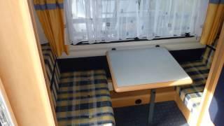 Caravan te koop: HOBBY DE LUXE EASY 400 KB KINDERBED 2001