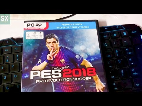 PES 2018 PC UNBOXING