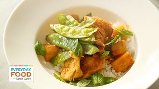 Red-curry-chicken Stir-fry - Everyday Food With Sarah Carey