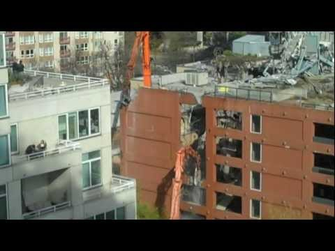 Seattle McGuire Highrise Demolition Pt. 1