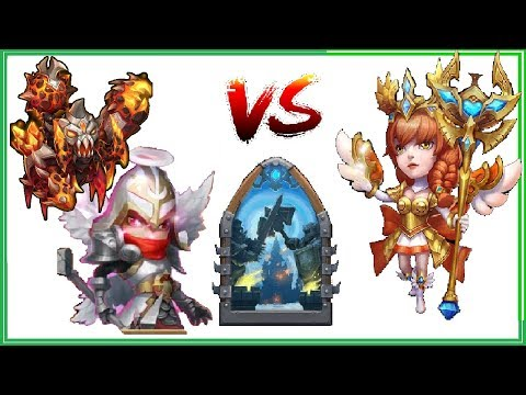 Using AC and MIKE to KILL MANY Heroes in Top Guild Wars Castle Clash