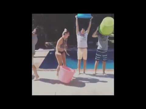 R5 & Ryland Lynch attempting the ALS ice bucket chanllenge