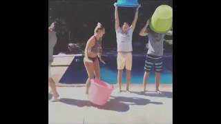 R5 & Ryland Lynch attempting the ALS ice bucket chanllenge