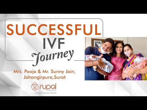IVF success story in blocked fallopian tubes.Best IVF centre,Dr Rupal Shah,Surat