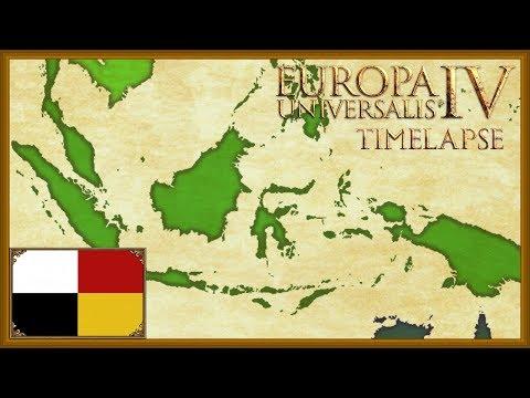 Europa Universalis 4 - Tall Malaya Trade Empire - Malacca Timelapse (Rights of man)