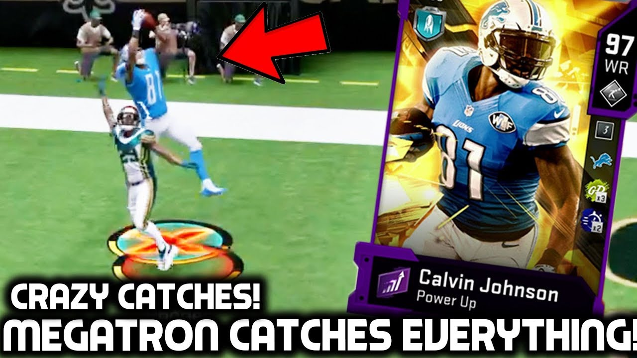 CALVIN JOHNSON IST EINE TD-FANGMASCHINE! Madden 20 Ultimate Team + video