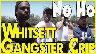 Whitsett Avenue Gangster Crips in North Hollywood & remembering Big Paybacc