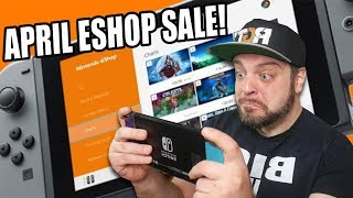 HUGE Nintendo Switch eShop Sal…
