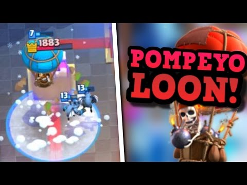 INSANELY FAST 2.5 Loon Cycle & Loon FREEZE! Pompeyo MAGIC in Clash Royale