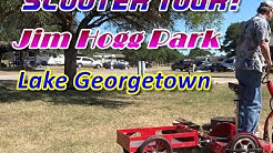 Georgetown Lake Camping At Jim Hogg Park | FPV Scooter Tour