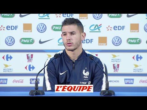 Hernandez «Vous verrez onze chiens contre la Belgique» - Foot - CM 2018 - Bleus