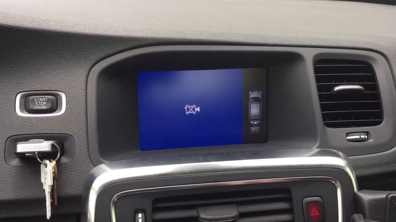 Volvo S60 backup camera still not working - YouTube