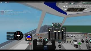 ROBLOX Air Crash Recreation United Airlines Flight 232 Part 1/2