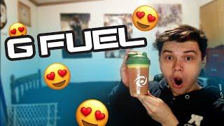 I PLAYED AS A DEFAULT SKIN IN FORTNITE! GFUEL UNBOXING VIDEO