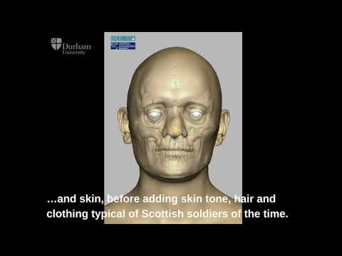 Scottish Soldiers Facial Reconstruction