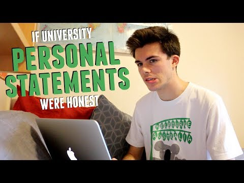 If Personal Statements Were Honest | Jack Edwards