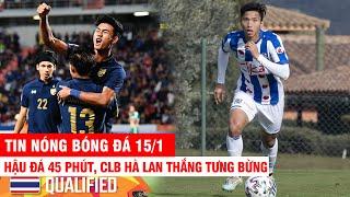 Tin bóng đá hôm nay 15/1 U23 Việt Nam hòa Thầy Park nói gì?   VCK U23 Châu Á 2020   Tin thể thao 24h