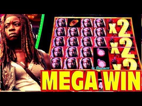Michonne Delivers HUGE WINS! The Walking Dead 2 slot machine BIG WINS! - 동영상