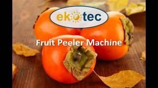 Fruit Peeler Machine - Apple Peeler Machine - Persimmon Peeler Machine - Ekotec Enerji Heat Pump