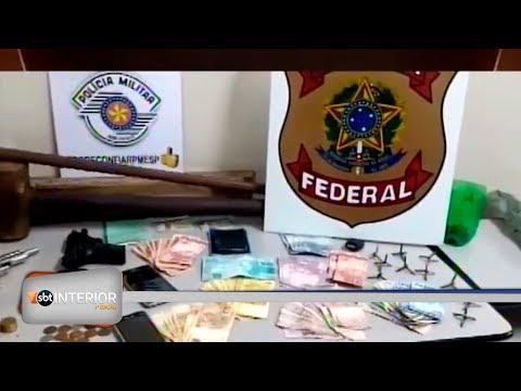 Assaltantes são presos depois de roubo em agência dos Correios
