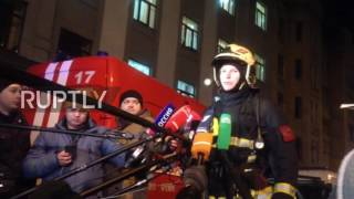 Russia  200 people evacuated from Burdenko Hospital in fire emergency