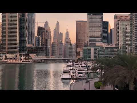 Dubai marina and Dubai jbr 2021
