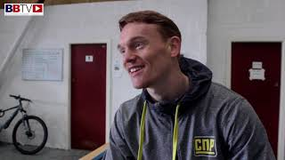 MASON CARTWRIGHT MOVES DOWN TO WELTERWEIGHT AND SAYS HE 'FEELS STRONGER'
