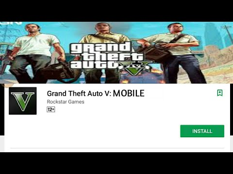 DOWNLOAD GTA 5 FROM PLAYSTORE!! ROCKSTAR GAMES!! 100% REAL WITH PROOF