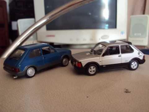 Modellini Auto Fiat 126 127 Ecc Youtube