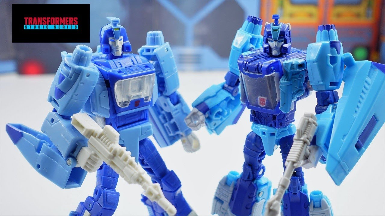 Transformers Studio Series '86 Movie Deluxe Blurr Review (4K) by bvzxa3