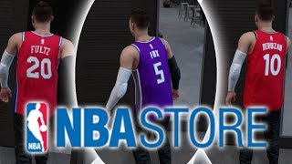 Buying Every Single Jersey From The NBA Store! NBA 2K18 My Career Challenge thumbnail