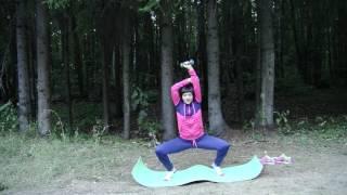 Видеоурок 30 - Выделяем 5 минут для укрепления мышц ягодиц, спины и ног