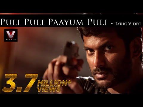 Puli Puli Paayum Puli Song Lyrics From Paayum Puli