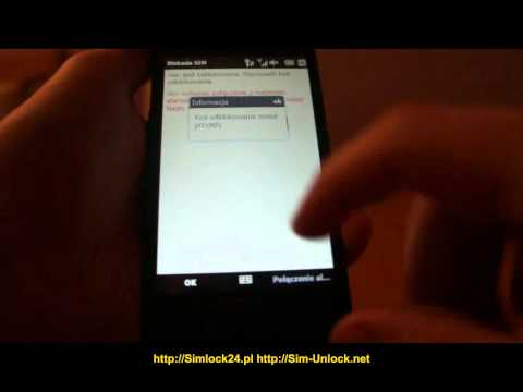 htc hd2 unlocking simlock