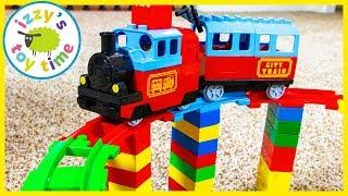LEGO DUPLO MEGA BRIDGE! Fun Toy Trains for Kids!