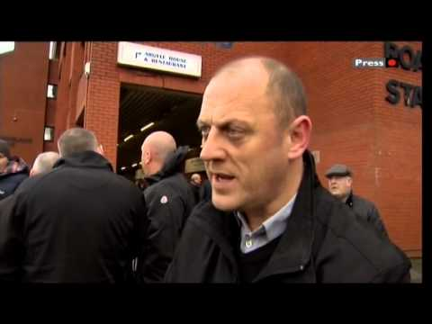 Rangers EGM....Dave King Outside Ibrox...Craig Houston: Sons Of Struth Interview