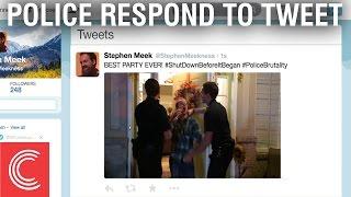 Police Respond to Tweet