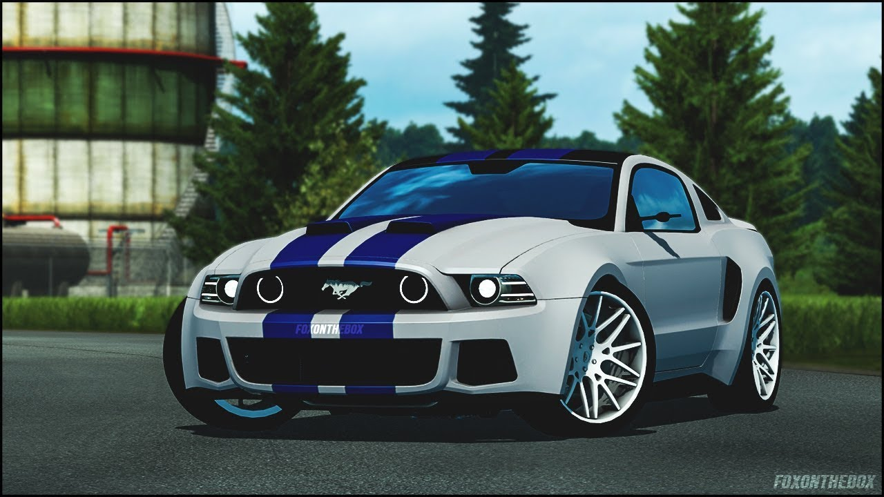 need for speed ford mustang euro truck simulator 2 ets2 youtube. Black Bedroom Furniture Sets. Home Design Ideas