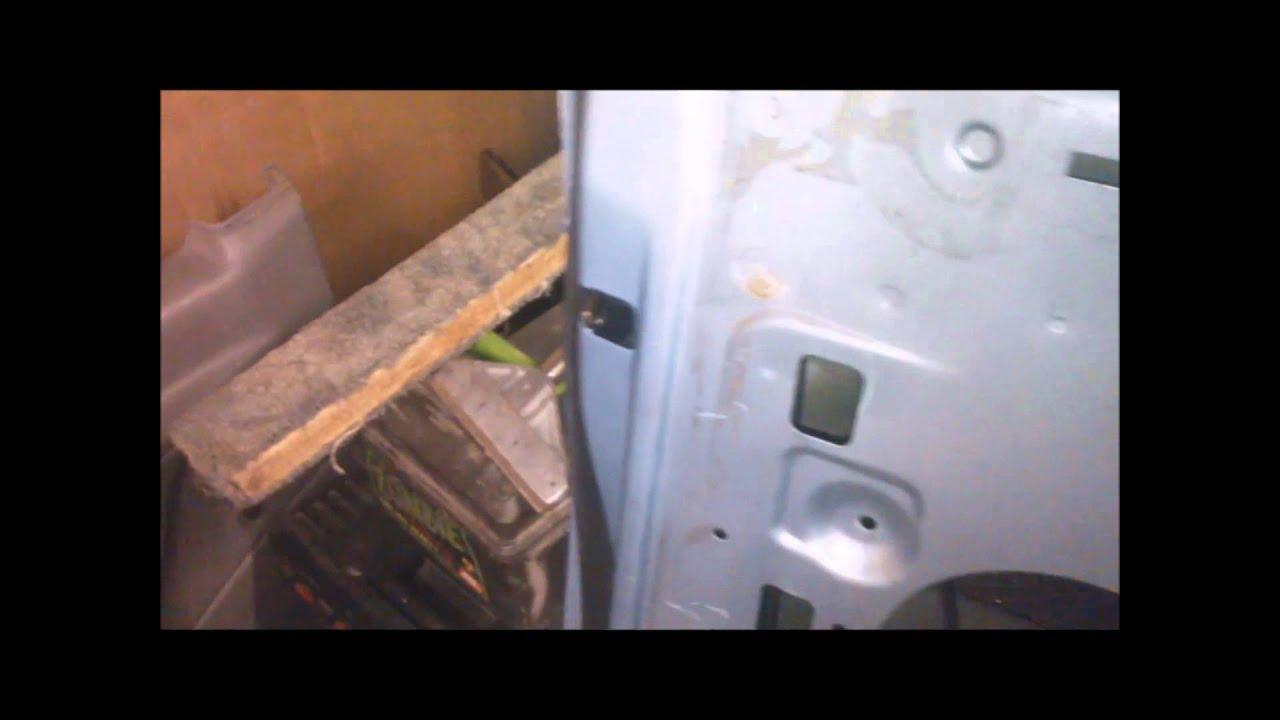 Van Door Handle Amp Lock Replacement Youtube