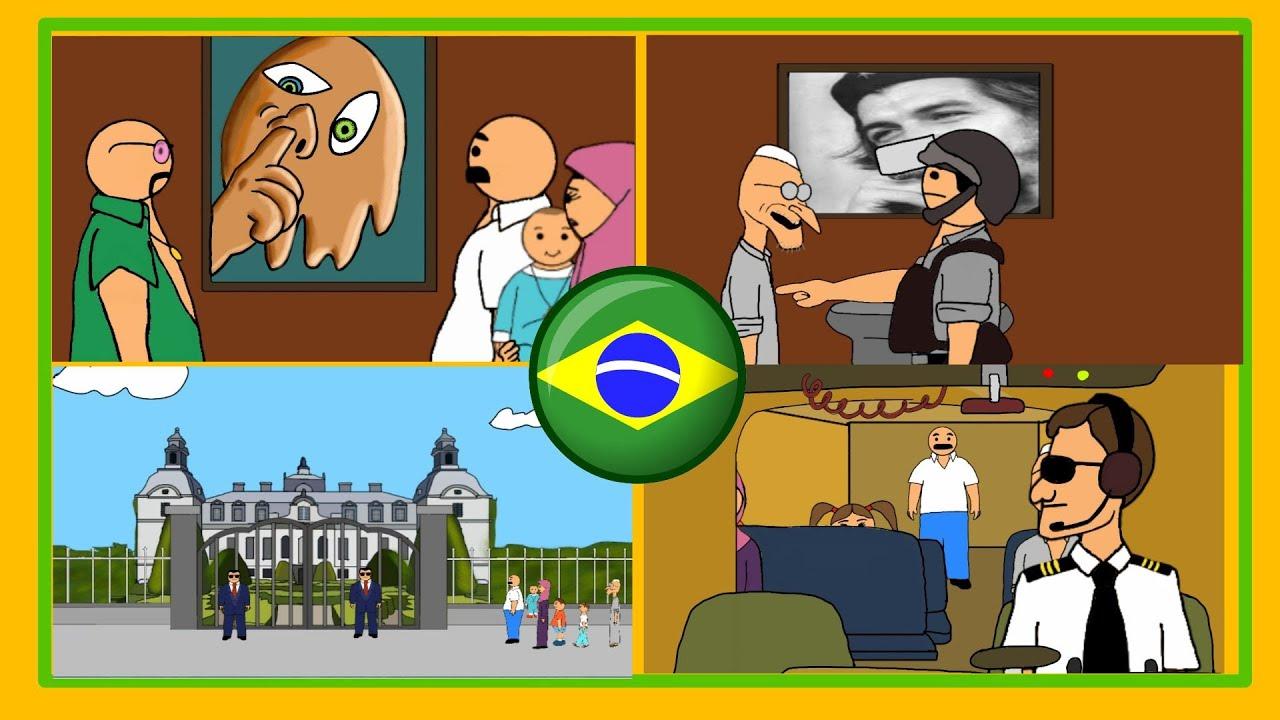 وصول #بيت_أبو_حمودي الى البرازيل
