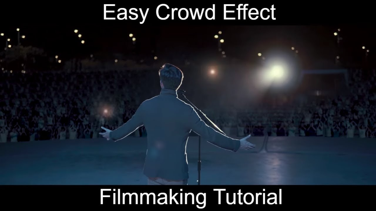 Download How to sell out a concert | Simple Crowd Simulation VFXs