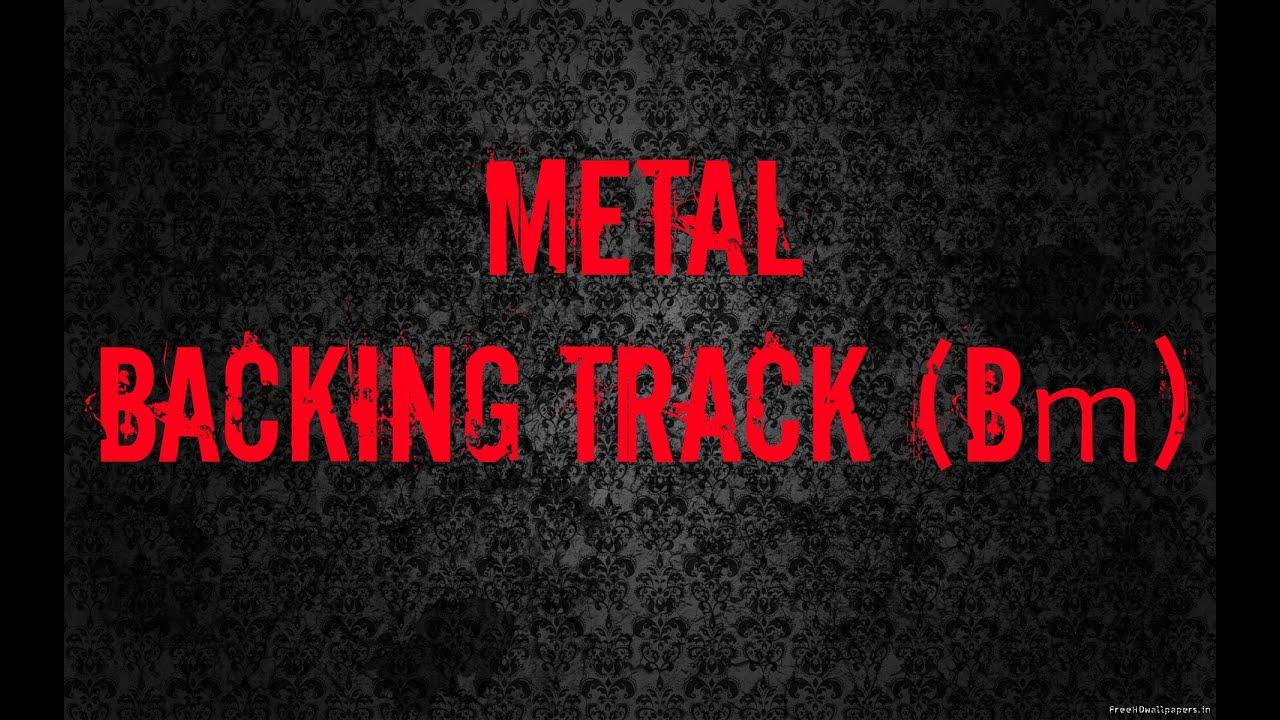 Metal Backing Track (Bm) - Stel Andre