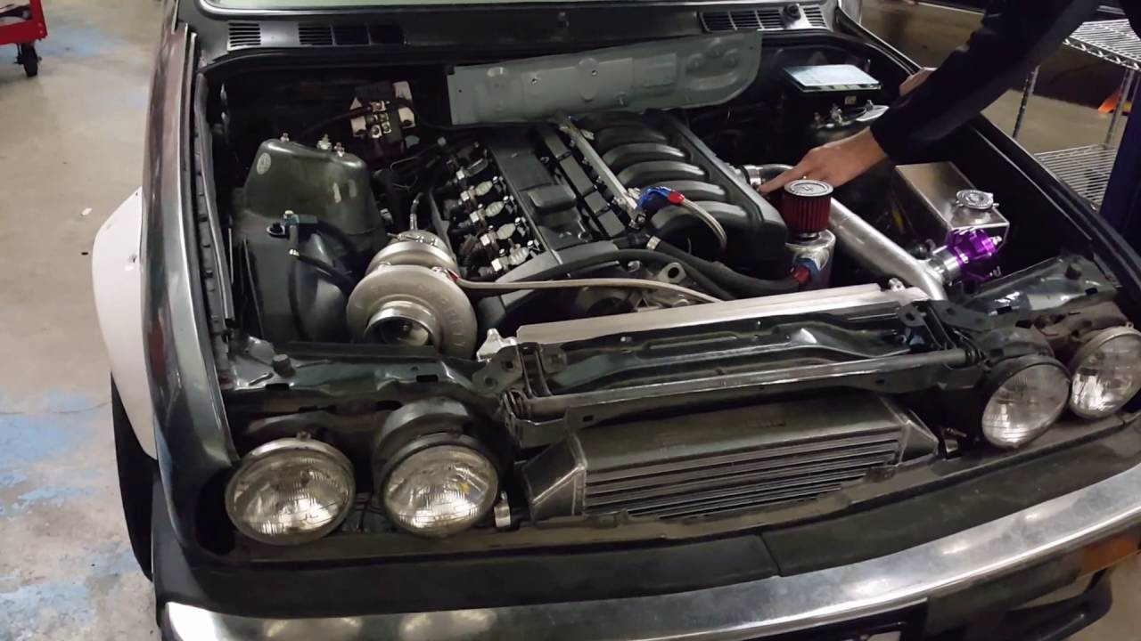 1987 Bmw 325 M52 Turbo Start Youtube