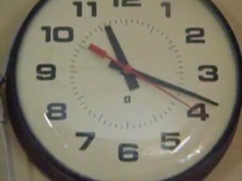 my simplex school wall clock