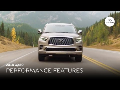 2018 INFINITI QX80 Insights: Performance Features