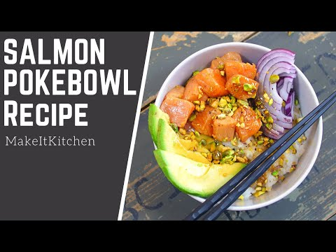 How to make a Salmon Poke Bowl