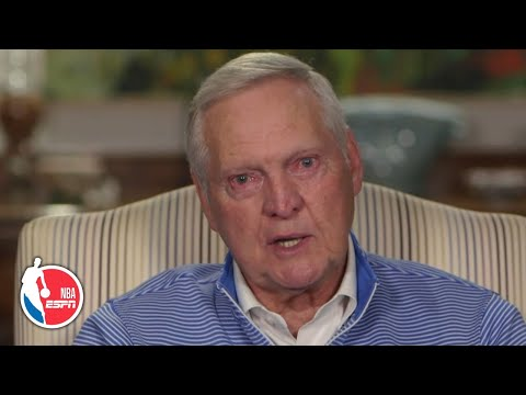 Jerry West Stunned By Kobe Bryant's Death | NBA On ESPN