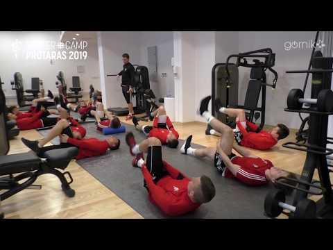 Niedzielne zajęcia na siłowni